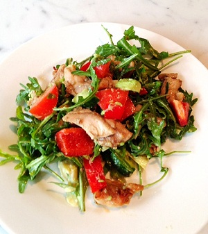 chicken and rocket salad small