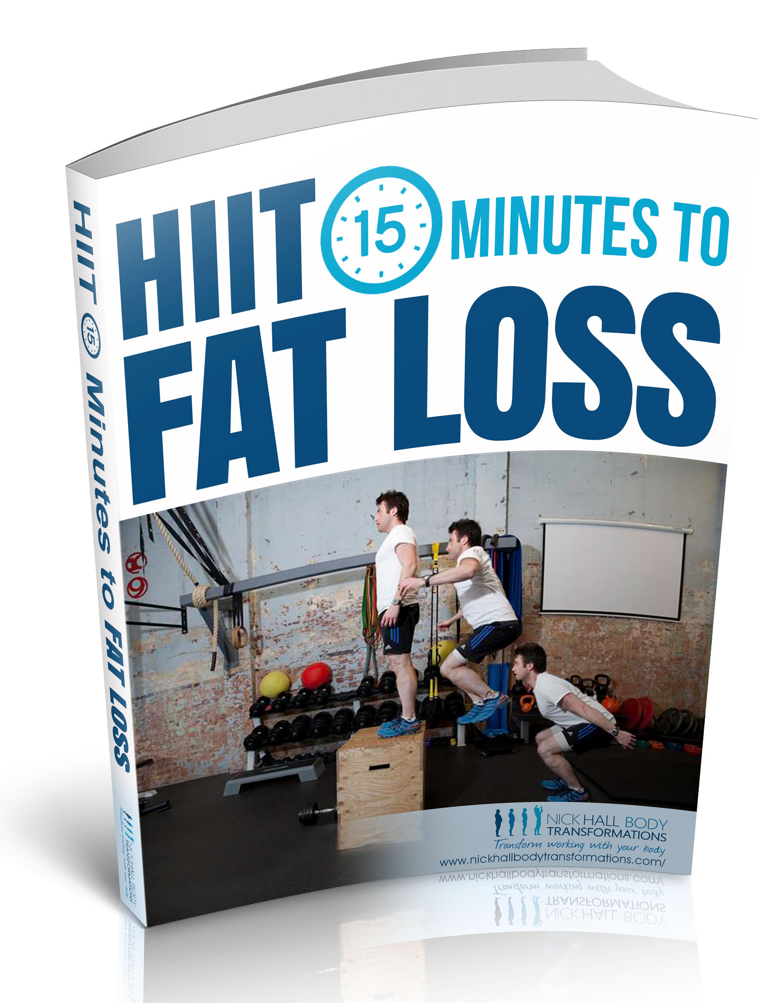 15 minutes to fat loss 3d cover