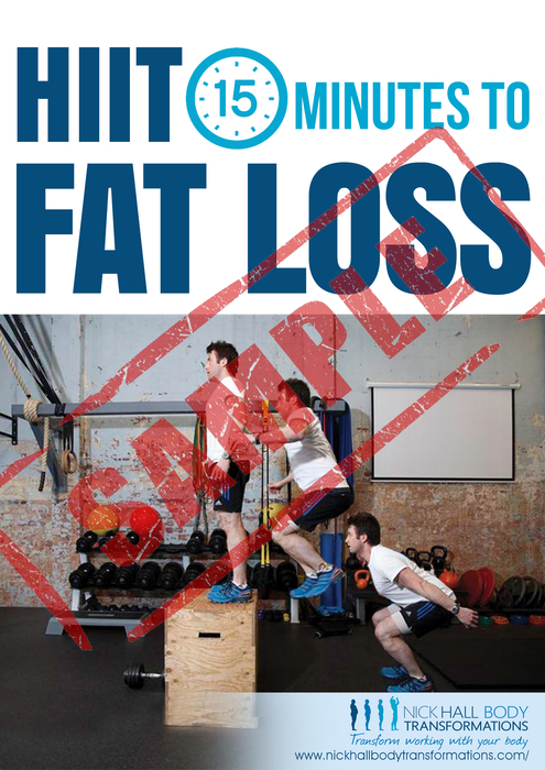 15 minutes to fat loss sample