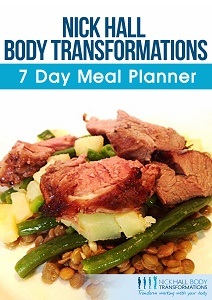 Free 7 Day Weight Loss Meal Planner