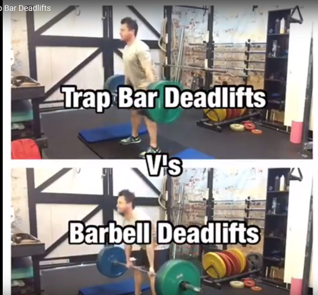 Trap Bar Vs Barbell Deadlifts